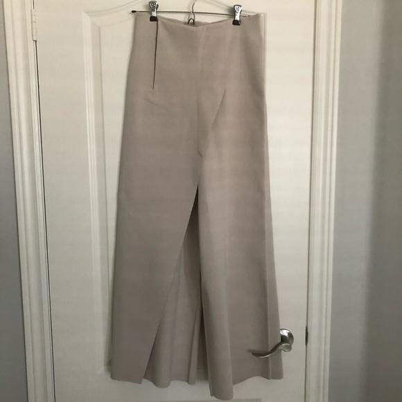 COS Knit wide leg pants